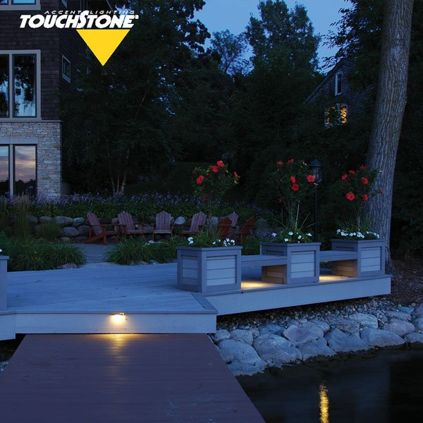 15 Deck Lighting Ideas For Every Season: Ledge Series Outdoor Deck Lights