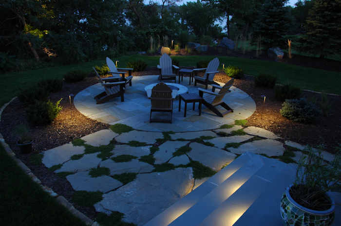 Fire Pit Lighting