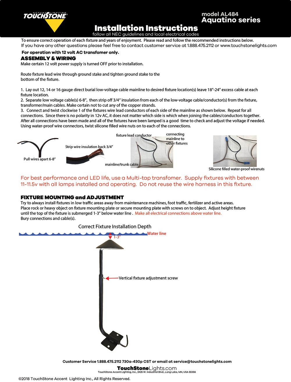 Instructions Wiring Lamps In Series Aquatino