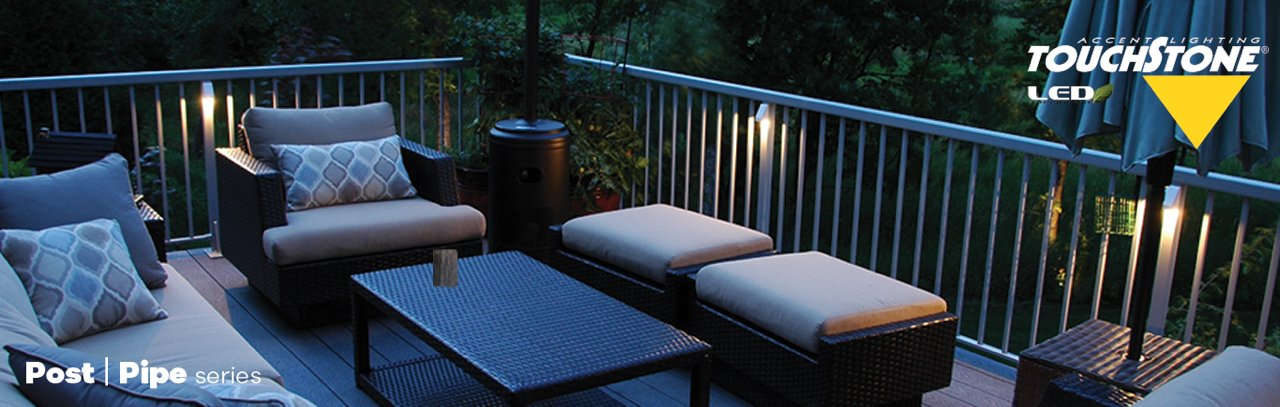 Enjoy your outdoors more touchstone accent lighting