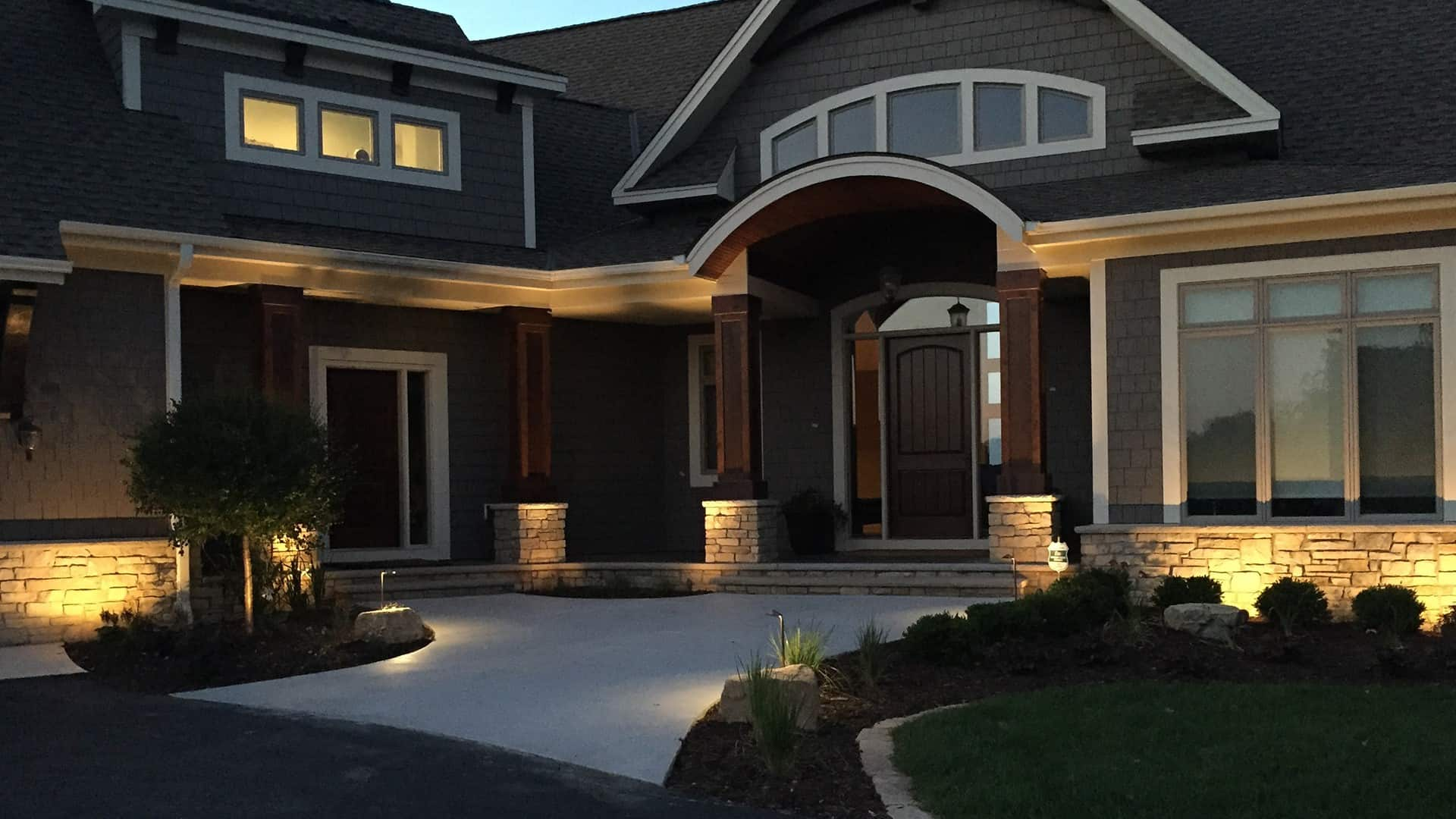 Commercial Residential Landscape Lighting Touchstone Lights
