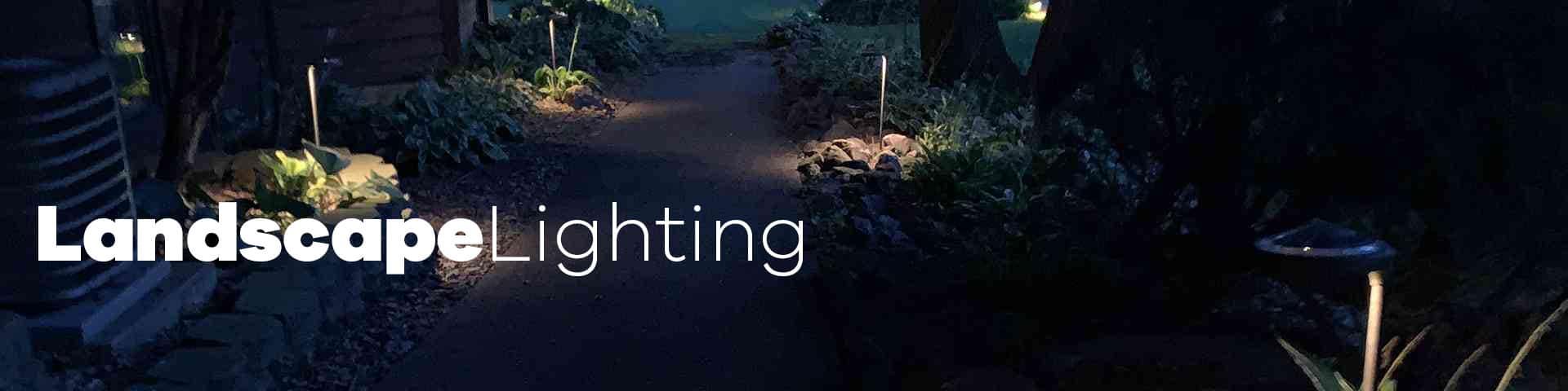 landscape lighting from Touchstone Lights